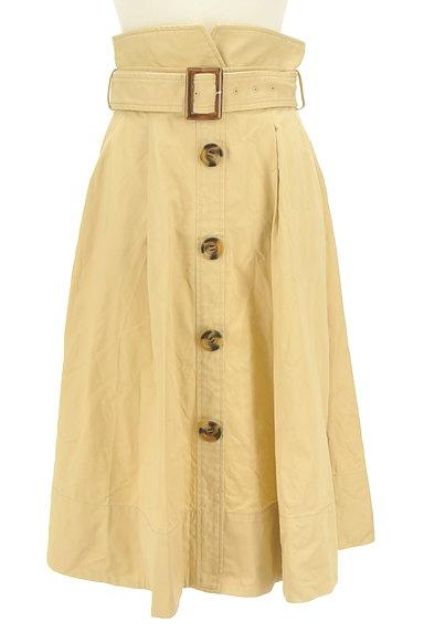 Lily Brown(リリーブラウン)の古着「ベルト付きハイウエストスカート(ロングスカート・マキシスカート)」大画像1へ