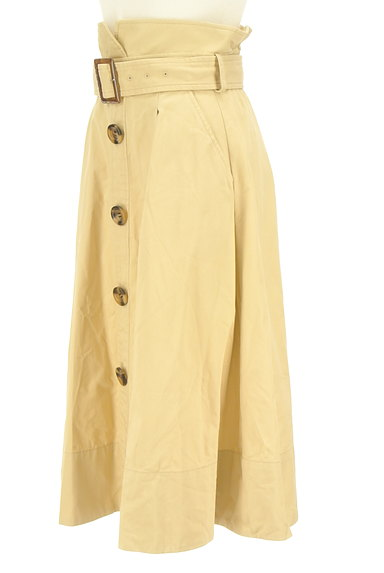 Lily Brown(リリーブラウン)の古着「ベルト付きハイウエストスカート(ロングスカート・マキシスカート)」大画像3へ