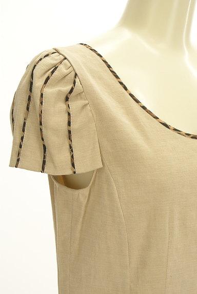 ITALIYA(伊太利屋)の古着「レオパードティアードワンピース(ワンピース・チュニック)」大画像4へ