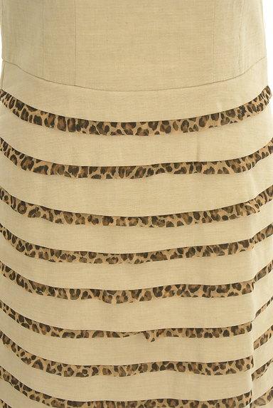 ITALIYA(伊太利屋)の古着「レオパードティアードワンピース(ワンピース・チュニック)」大画像5へ