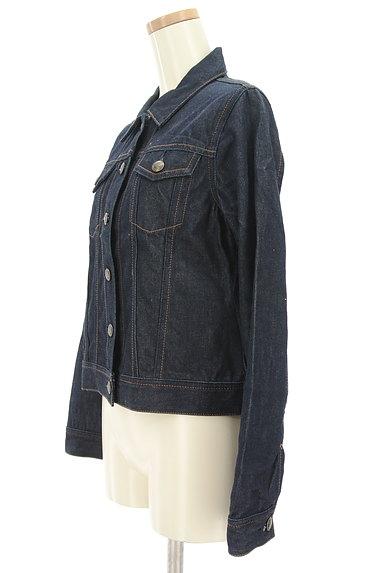 Rouge vif La cle(ルージュヴィフラクレ)の古着「インディゴデニムジャケット(ジャケット)」大画像3へ