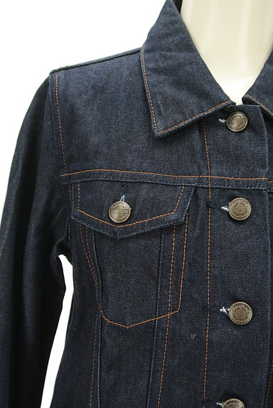 Rouge vif La cle(ルージュヴィフラクレ)の古着「インディゴデニムジャケット(ジャケット)」大画像4へ