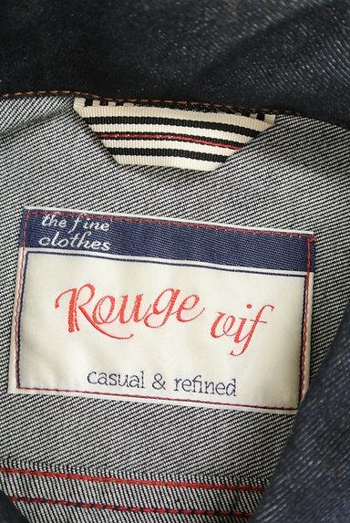 Rouge vif La cle(ルージュヴィフラクレ)の古着「インディゴデニムジャケット(ジャケット)」大画像6へ