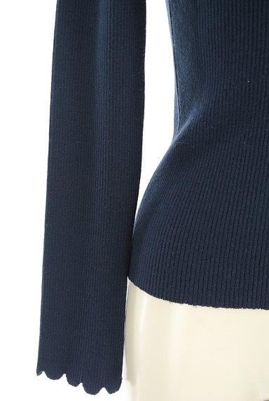 STRAWBERRY-FIELDS(ストロベリーフィールズ)の古着「スカラップハイネックリブニット(ニット)」大画像5へ