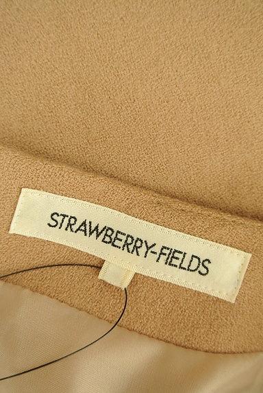 STRAWBERRY-FIELDS(ストロベリーフィールズ)の古着「バイカラーフレア7分袖ワンピース(ワンピース・チュニック)」大画像6へ