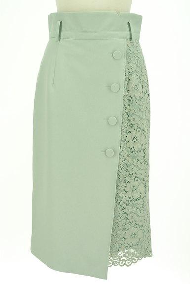 JUSGLITTY(ジャスグリッティー)の古着「ラップ風サイドレーススカート(スカート)」大画像1へ