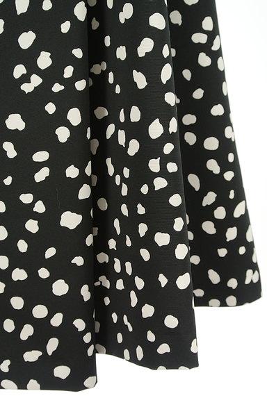 JUSGLITTY(ジャスグリッティー)の古着「ダルメシアン柄ミモレ丈フレアスカート(ロングスカート・マキシスカート)」大画像5へ