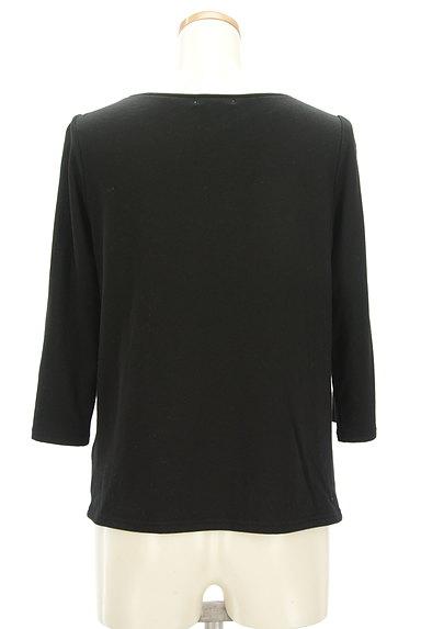 LUI CHANTANT(ルイシャンタン)の古着「フロント切替7分袖カットソー(カットソー・プルオーバー)」大画像2へ