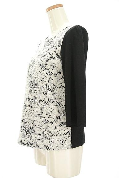 LUI CHANTANT(ルイシャンタン)の古着「フロント切替7分袖カットソー(カットソー・プルオーバー)」大画像3へ