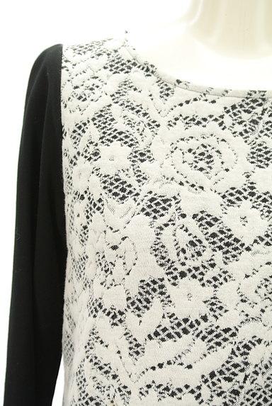 LUI CHANTANT(ルイシャンタン)の古着「フロント切替7分袖カットソー(カットソー・プルオーバー)」大画像4へ