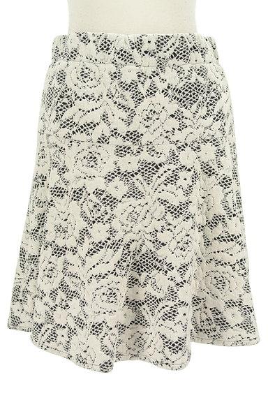 LUI CHANTANT(ルイシャンタン)の古着「膝上丈花柄フレアスカート(スカート)」大画像1へ