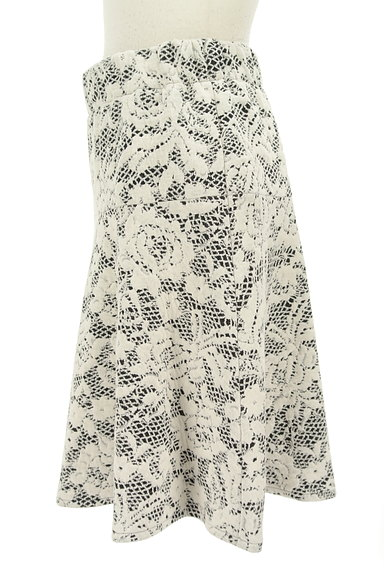 LUI CHANTANT(ルイシャンタン)の古着「膝上丈花柄フレアスカート(スカート)」大画像3へ