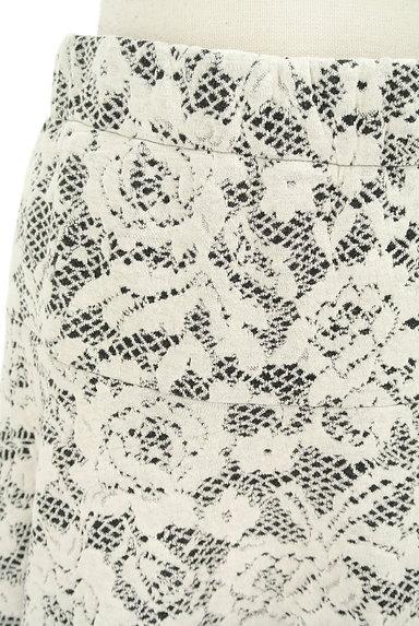 LUI CHANTANT(ルイシャンタン)の古着「膝上丈花柄フレアスカート(スカート)」大画像4へ