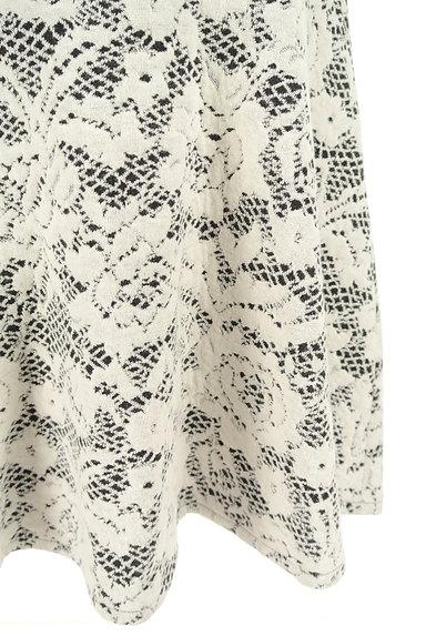 LUI CHANTANT(ルイシャンタン)の古着「膝上丈花柄フレアスカート(スカート)」大画像5へ