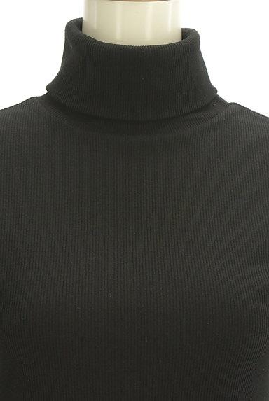 LUI CHANTANT(ルイシャンタン)の古着「タイトリブタートルネックニット(ニット)」大画像4へ