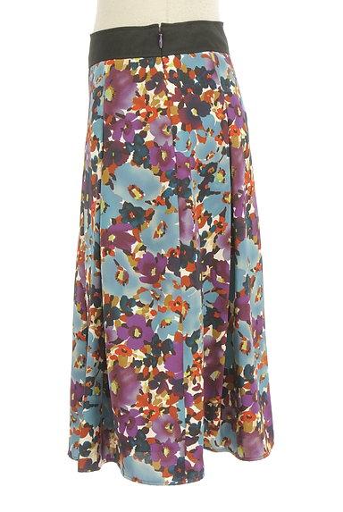 LUI CHANTANT(ルイシャンタン)の古着「花柄タックフレアスカート(スカート)」大画像3へ