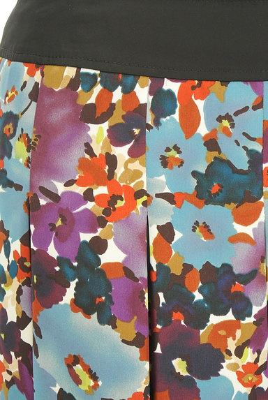 LUI CHANTANT(ルイシャンタン)の古着「花柄タックフレアスカート(スカート)」大画像4へ