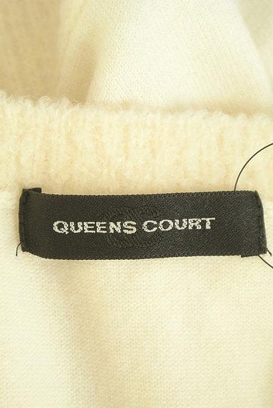 QUEENS COURT(クイーンズコート)の古着「ラメニット切替アンサンブル(アンサンブル)」大画像6へ