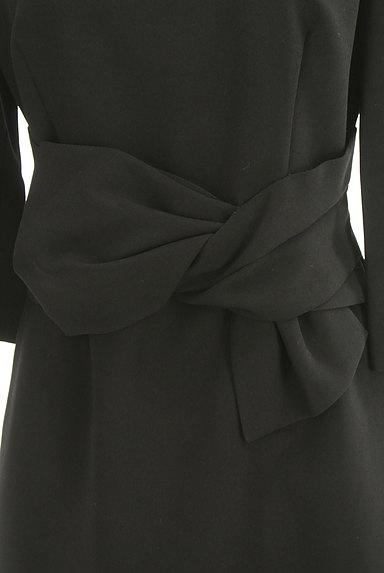 JUSGLITTY(ジャスグリッティー)の古着「ツイストリボン9分袖ワンピース(ワンピース・チュニック)」大画像4へ