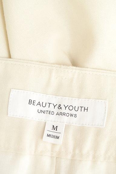 BEAUTY&YOUTH(ビューティ&ユース)の古着「リネンミックスハイウエストパンツ(パンツ)」大画像6へ