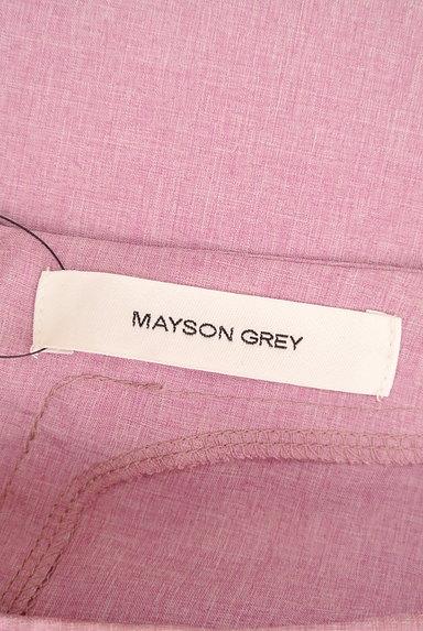 MAYSON GREY(メイソングレイ)の古着「ボリューム袖ラウンドヘムカットソー(ブラウス)」大画像6へ