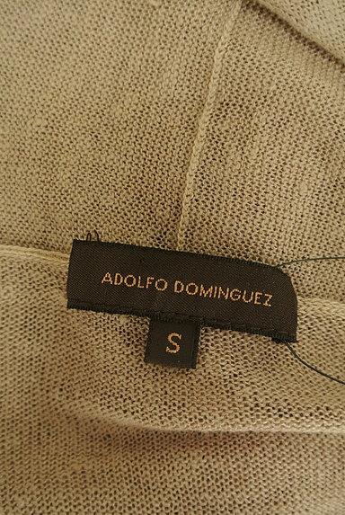 ADOLFO DOMINGUEZ(アドルフォドミンゲス)の古着「ウエストリボンガウン風カーディガン(カーディガン・ボレロ)」大画像6へ