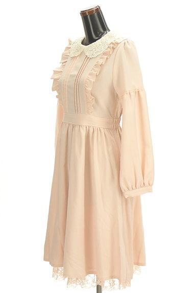 axes femme(アクシーズファム)の古着「刺繍レース襟ロマンティックワンピ(ワンピース・チュニック)」大画像3へ