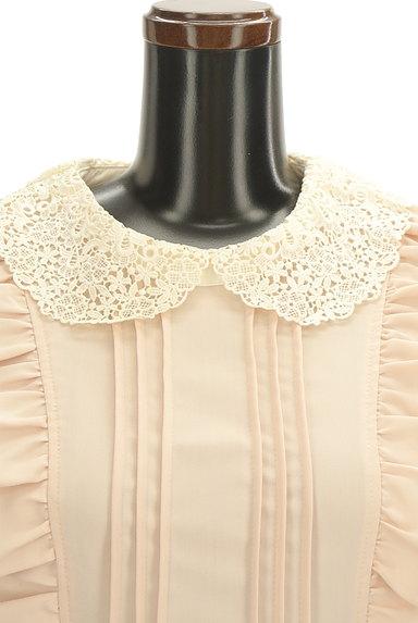 axes femme(アクシーズファム)の古着「刺繍レース襟ロマンティックワンピ(ワンピース・チュニック)」大画像4へ