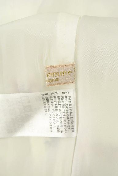 axes femme(アクシーズファム)の古着「レース袖膝下丈花柄ワンピース(ワンピース・チュニック)」大画像6へ