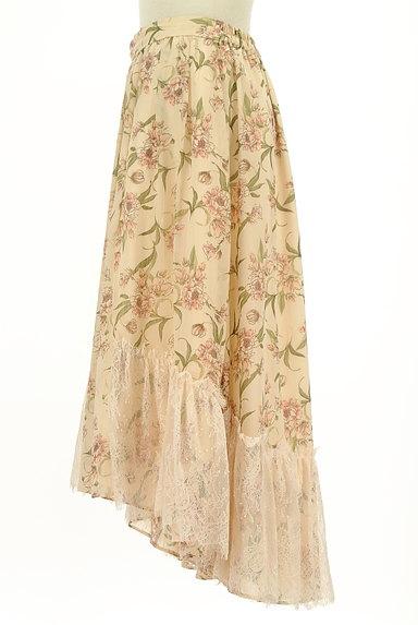 axes femme(アクシーズファム)の古着「花柄フィッシュテールシフォンスカート(ロングスカート・マキシスカート)」大画像3へ
