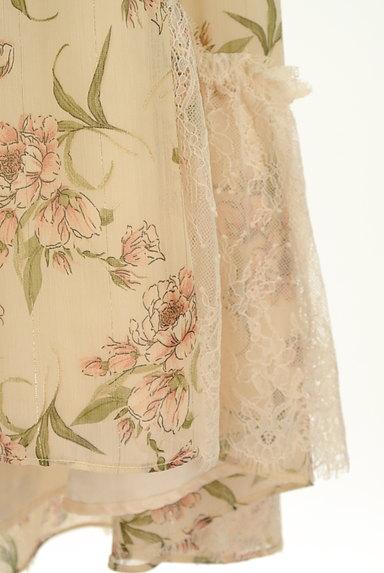 axes femme(アクシーズファム)の古着「花柄フィッシュテールシフォンスカート(ロングスカート・マキシスカート)」大画像5へ