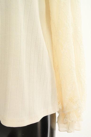 axes femme(アクシーズファム)の古着「ガーリーフリルカットソー(カットソー・プルオーバー)」大画像5へ