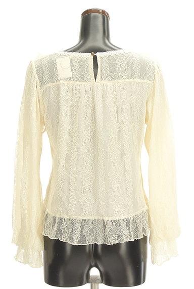 axes femme(アクシーズファム)の古着「刺繍入り総レースフリルカットソー(カットソー・プルオーバー)」大画像2へ