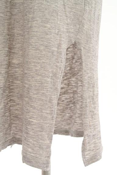 Cloth&Cross(クロス&クロス)の古着「7分袖サイドスリットマキシワンピ(ワンピース・チュニック)」大画像5へ