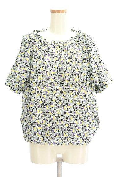 Hug o war(ハグオーワー)の古着「小花柄スモックカットソー(カットソー・プルオーバー)」大画像1へ
