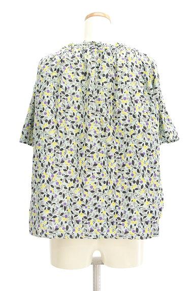 Hug o war(ハグオーワー)の古着「小花柄スモックカットソー(カットソー・プルオーバー)」大画像2へ