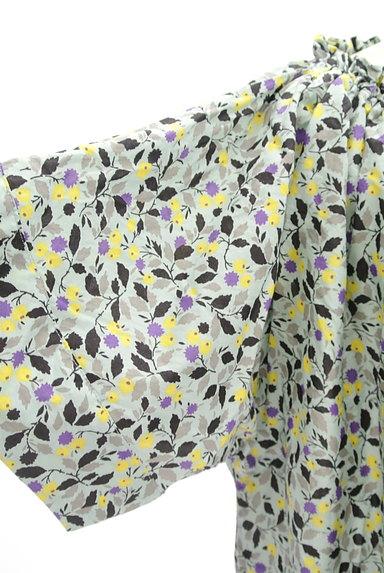 Hug o war(ハグオーワー)の古着「小花柄スモックカットソー(カットソー・プルオーバー)」大画像5へ
