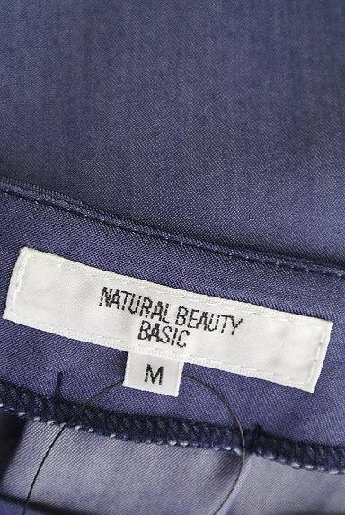 NATURAL BEAUTY BASIC(ナチュラルビューティベーシック)の古着「袖リボンシャイニーカットソー(カットソー・プルオーバー)」大画像6へ