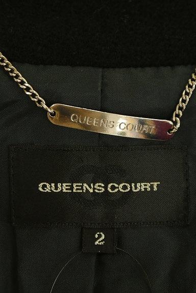 QUEENS COURT(クイーンズコート)の古着「ロングフレアコート(コート)」大画像6へ
