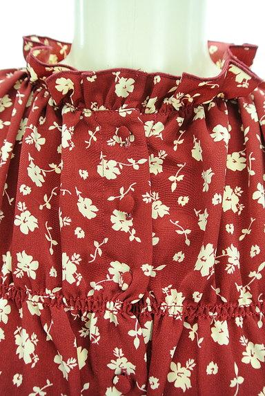 RODEO CROWNS(ロデオクラウン)の古着「小花柄フリルマキシワンピース(ワンピース・チュニック)」大画像4へ