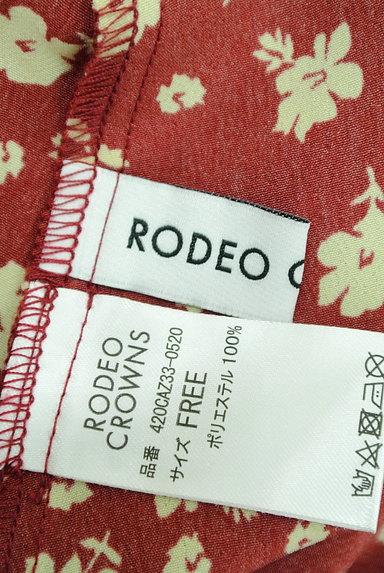 RODEO CROWNS(ロデオクラウン)の古着「小花柄フリルマキシワンピース(ワンピース・チュニック)」大画像6へ