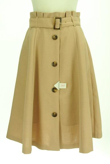 Rirandture(リランドチュール)の古着「ベルト付き膝下丈フレアスカート(スカート)」大画像4へ