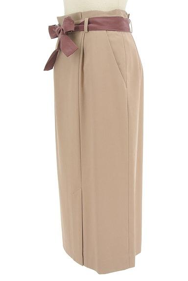 PROPORTION BODY DRESSING(プロポーションボディ ドレッシング)の古着「スリットタイトロングスカート(ロングスカート・マキシスカート)」大画像3へ