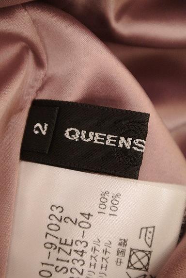 QUEENS COURT(クイーンズコート)の古着「シャイニードレープロングスカート(ロングスカート・マキシスカート)」大画像6へ