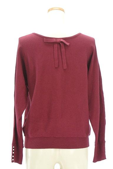 Couture Brooch(クチュールブローチ)の古着「袖パールバックリボンニット(ニット)」大画像2へ
