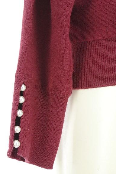 Couture Brooch(クチュールブローチ)の古着「袖パールバックリボンニット(ニット)」大画像5へ