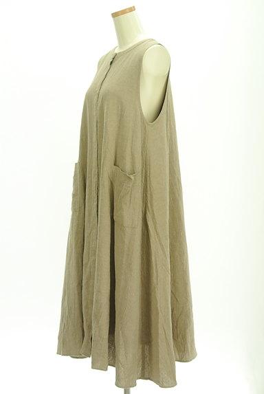 SM2(サマンサモスモス)の古着「ワッシャーコットンリネンワンピ(ワンピース・チュニック)」大画像3へ