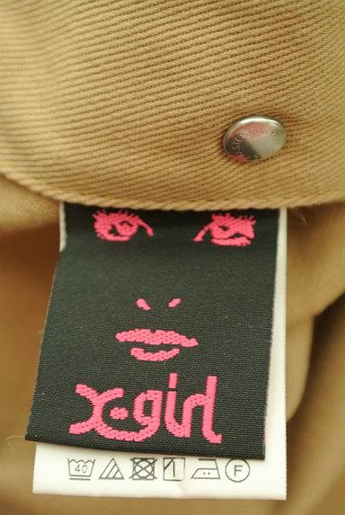 X-girl(エックスガール)の古着「ロゴサスペンダーオーバーオール(オーバーオール・サロペット)」大画像6へ