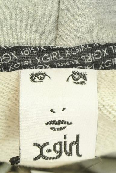 X-girl(エックスガール)の古着「ロゴ刺繍スウェットパーカー(スウェット・パーカー)」大画像6へ