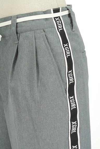 X-girl(エックスガール)の古着「サイドロゴテープテーパードパンツ(パンツ)」大画像5へ
